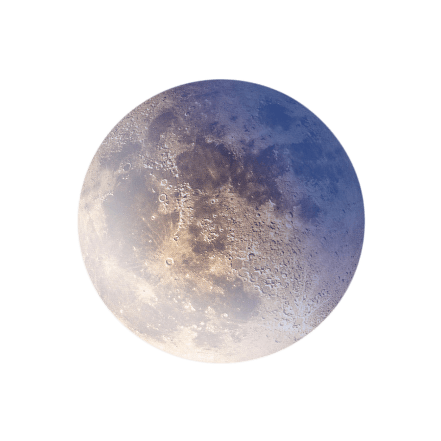 Луна. Число 2
